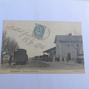 13 - EYGUIERES - La Gare En 1904 - Eyguieres