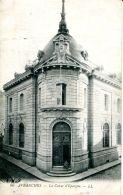 N°38698 -cpa Avranches -la Caisse D'épargne- - Banques