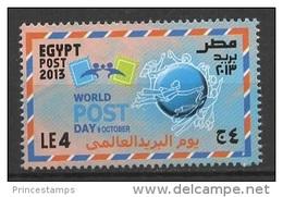 Egypt (2013) - Set -  /  UPU - Comunication - Communication - World Post Day