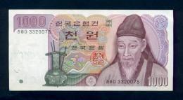 Banconota Korea Del Sud 1000 Won 1975 - Corea Del Sud