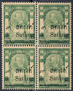 Stamp  THAILAND,SIAM 1909 Mint MNH  Lot#87 - Timbres