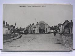 80 - VIGANCOURT - RUES ARMAND CORNET ET HORNAS - ANIMEE - 1921 - Vignacourt