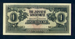 Banconota Malaya - The Japanese Governement , 1 DOLLAR 1942 - FDS - Malesia