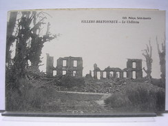 80 - VILLERS BRETONNEUX - LE CHATEAU - 1922 - Villers Bretonneux
