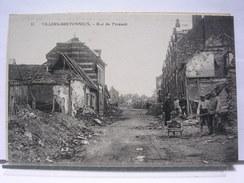 80 - VILLERS BRETONNEUX - RUE DU PRESSOIR - ANIMEE - 1922 - Villers Bretonneux
