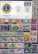 AFRIQUE ! LETTRE 1er JOUR Du Sénégal Et Timbres Anciens Du Cameroun, Congo Depuis 1950 ! Certains Sont AERIENS - Postzegels