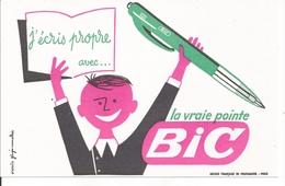 Buvard La Vraie Pinte Bic. (Stylo) - Stationeries (flat Articles)