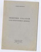 ALFONSO FRANGIPANE CALABRIA DEMETRIO SALAZAR E GLI STUDI STORICO-ARTISTICI 1959 - Livres, BD, Revues