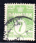 Y928 - DANIMARCA 1921 , Unificato N. 133  Usato - 1913-47 (Christian X)