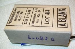 Boite De 8 Cartouches à Blanc Mle 1905-27 - 1939-45