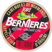 ETIQUETTE DE  CAMEMBERT LEBOUCHER JORT 14 AF OU 14 064 - Cheese