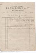 Facture Librairie Classique De Th.Bomal & Cie à Houdeng-Aimeries Le 7/6/1879 PR3947 - Belgium