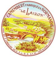 ETIQUETTE DE  CAMEMBERT LEPETIT 14 AI  B.P. 63 AU LIEU DE BP  65 - Cheese