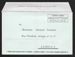 PORTUGAL Aerogramme Free Military Armed Forces Unused C1960s STK#X21107 - Postal Stationery