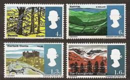 ENGLAND 1966 - LANDSCAPES / Scenery - Mi 418-421 MNH ** N033 - Unused Stamps