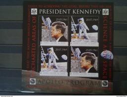 JOHN F. KENNEDY APOLLO PROGRAM BLOC SIERRA LEONE NEUF** DEPART 1 EURO