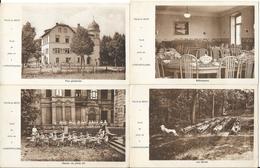 CARTE POSTALE  ANCIENNE  LANDONVILLERS  (57)  ECOLE DE PLEIN AIR  -  LOT 4 CARTES - France