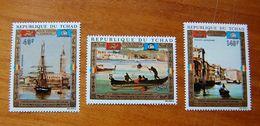 TCHAD 1972 POUR VENICE - UNESCO SET MNH