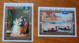 UPPER VOLTA 1972 POUR VENICE - UNESCO SET MNH