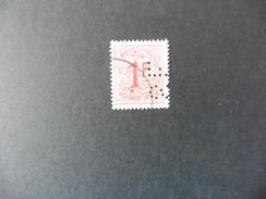Belgique  : Perfins : Timbre N° 859   Perforé   S.E - Lochung