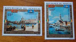 SENEGAL 1972 POUR VENICE - UNESCO SET MNH