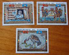 DAHOMEY 1972 POUR VENICE - UNESCO SET MNH