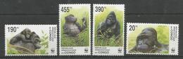 CONGO - MNH - Animals - Gorillas - WWF