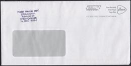 2014 - NEDERLAND - Cover EMA - PRIORITY + SCHIEDAM - Marcofilie - EMA (Print Machine)