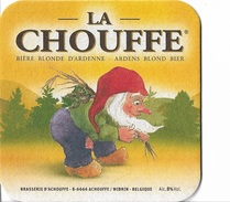 Sous-Bocks - La Chouffe - Bière Blonde D'Ardenne - Belge - - Beer Mats