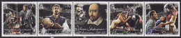 Pitcairn Islands 2016 - William Shakespeare 400th Anniv, Strip Of 5 Mnh