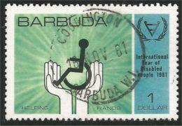 176 Barbuda Year Disabled Handicapés (B-BBA-142) - Handicaps