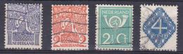 Nederland 110-113 - Periode 1891-1948 (Wilhelmina)