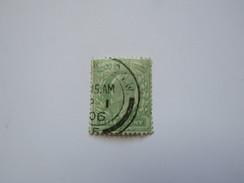 Grb08  ½p  Vert  Edward VII  YT 106  SG 217 - 1902-1951 (Re)