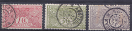 Nederland 1906 84-86 - Gebruikt