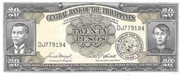 Philippines - Pick 137d - 20 Pesos 1949 - Unc - Filippine