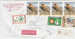 Cover * Republique Centrafricaine * 1998 * Registered