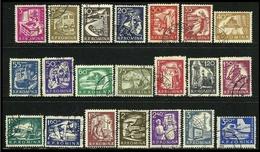 ROMANIA 1960 - ORDINARIA - N. 1690 / 09 + P.A. 118 Usati, Serie C. - Cat. 5,00 € - Lotto N. 943