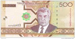 Turkmenistan - Pick 19 - 500 Manat 2005 - Unc - Turkménistan