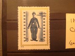 India 1978 Charlie Chaplin MNH SG 887