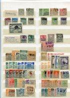 Deutsches Reich 600+ Briefmarken Kolonien Memel, Danzig, Kiautschau Usw Wurttemberg Haute Silesien Pirivat Usw