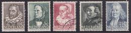 Nederland 1938 305-309 - Periode 1891-1948 (Wilhelmina)