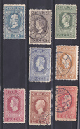 Nederland 1913 Nrs 90 Tm 96 + 98 - Periode 1891-1948 (Wilhelmina)