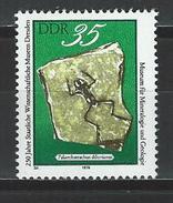 DDR Mi 2373 ** MNH Palaeobatrachus Diluvianus