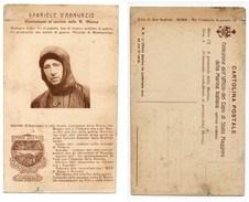GABRIELE D'ANNUNZIO COMBATTENTE AL SERVIZIO DELLA R. MARINA #9 - Historical Famous People