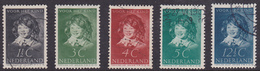 Nederland 1937 300-304 - Periode 1891-1948 (Wilhelmina)