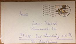 DDR, Plauen --> Bad Homburg 17.12.78, Sibirischer Tiger, Zoo, Raubkatzen, Zoologischer Garten - Brieven En Documenten