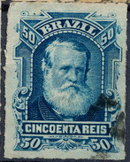 Stamp Brazil 1878 50r Lot#40 - Brazil