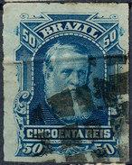 Stamp Brazil 1878 50r Lot#42 - Brazil