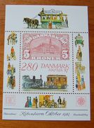 Denmark. Hafnia 87, Miniblock, 1987, MNH **