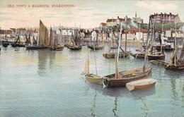 Folkestone, Old Tower And Harbour (pk33785) - Folkestone